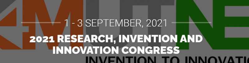 2021 Research, Invention, and Innovation Congress (RI2C2021) 1-3 September 2021