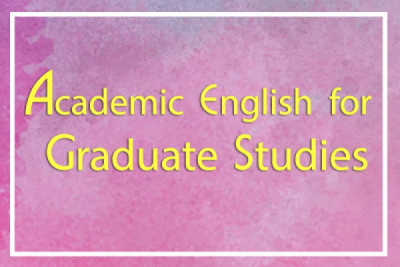 Announcement Results of Academic English  for Graduate Studies 1 and 2 Round 2 (2/2019)