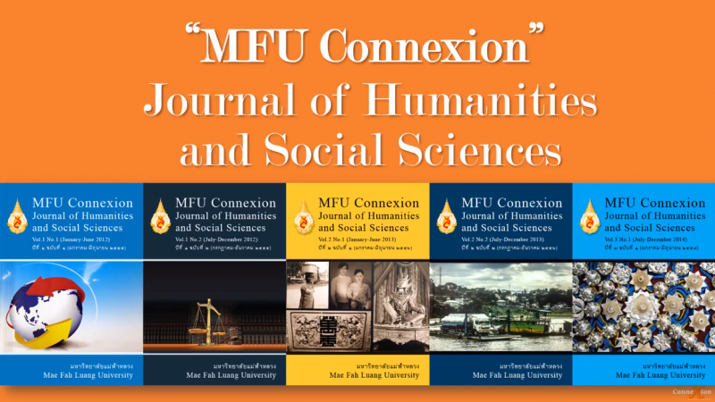 """MFU Connexion"" Journal of Humanities and Social Sciences Presentation"