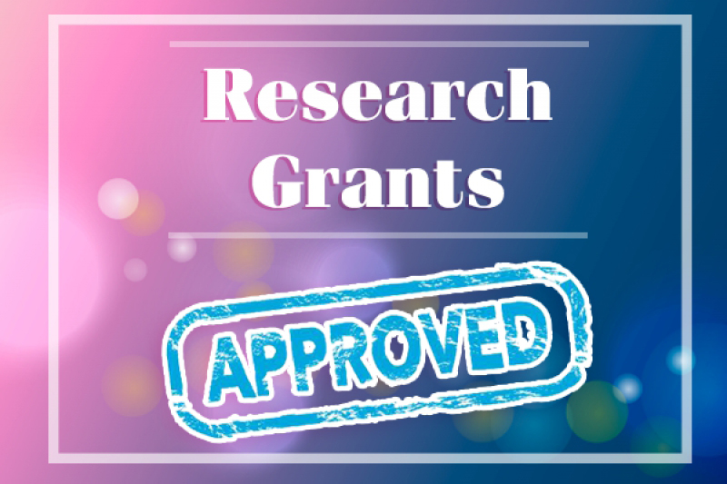 Research grant approved round 1 of 1/2017
